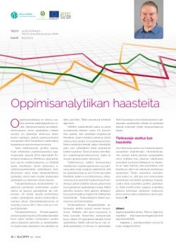 Oppimisanalytiikan haasteita - SeOppi-lehden artikkelisivi